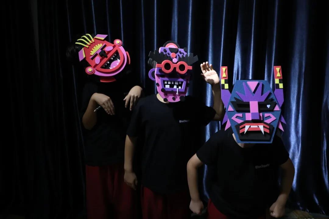 Masques designés par Muillaumit